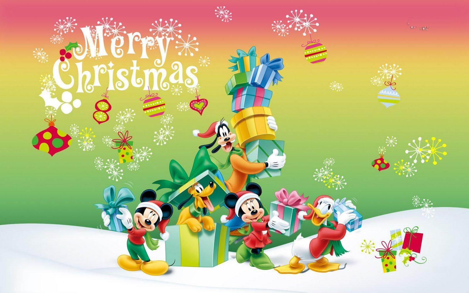Christmas Cartoons Images